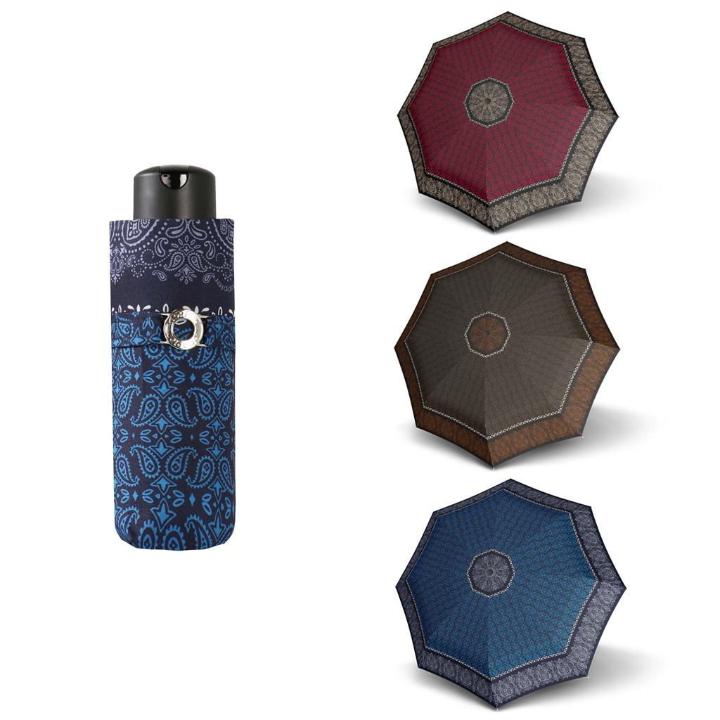 Doppler Mini XS Carbonsteel VICTORIA - dámský skládací deštník hnědá