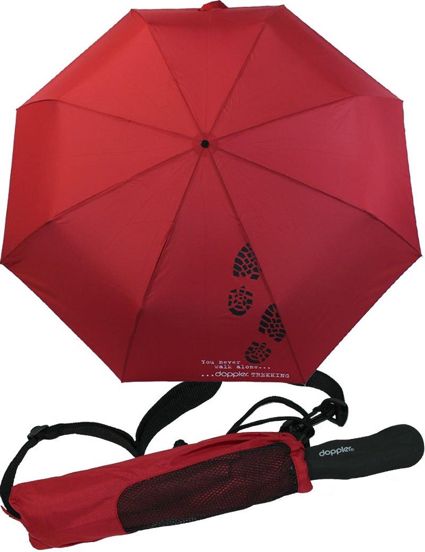 Trekingový deštník Doppler - červený