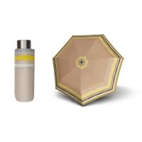 Doppler Lolita Mini RAJA - dámský skládací mini deštník béžová