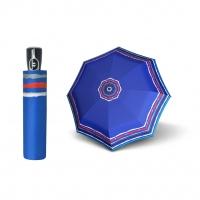 Doppler Magic Fiber RAJA - dámský skládací plně automatický deštník modrá