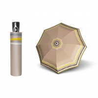 Doppler Magic Fiber RAJA - dámský skládací plně automatický deštník béžová