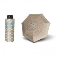 Doppler Mini XS Carbonsteel RIVERA - dámský skládací deštník béžová