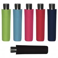 Doppler Mini Fiber UNI 21 - dámský skládací deštník zelená