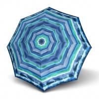 Doppler Long AC Fiber CAPRI - dámský holový deštník modrá