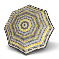 Doppler Long AC Fiber CAPRI - dámský holový deštník žlutá