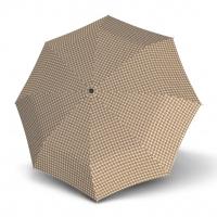 Doppler Magic Fiber PALMA - dámský skládací plně automatický deštník hnědá
