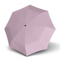 Doppler Magic Fiber PALMA - dámský skládací plně automatický deštník růžová