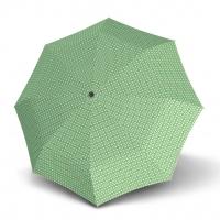 Doppler Magic Fiber PALMA - dámský skládací plně automatický deštník zelená