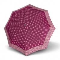 Doppler Mini XS Carbonsteel NIZZA - dámský skládací deštník růžová