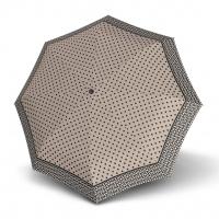 Doppler Mini XS Carbonsteel NIZZA - dámský skládací deštník béžová