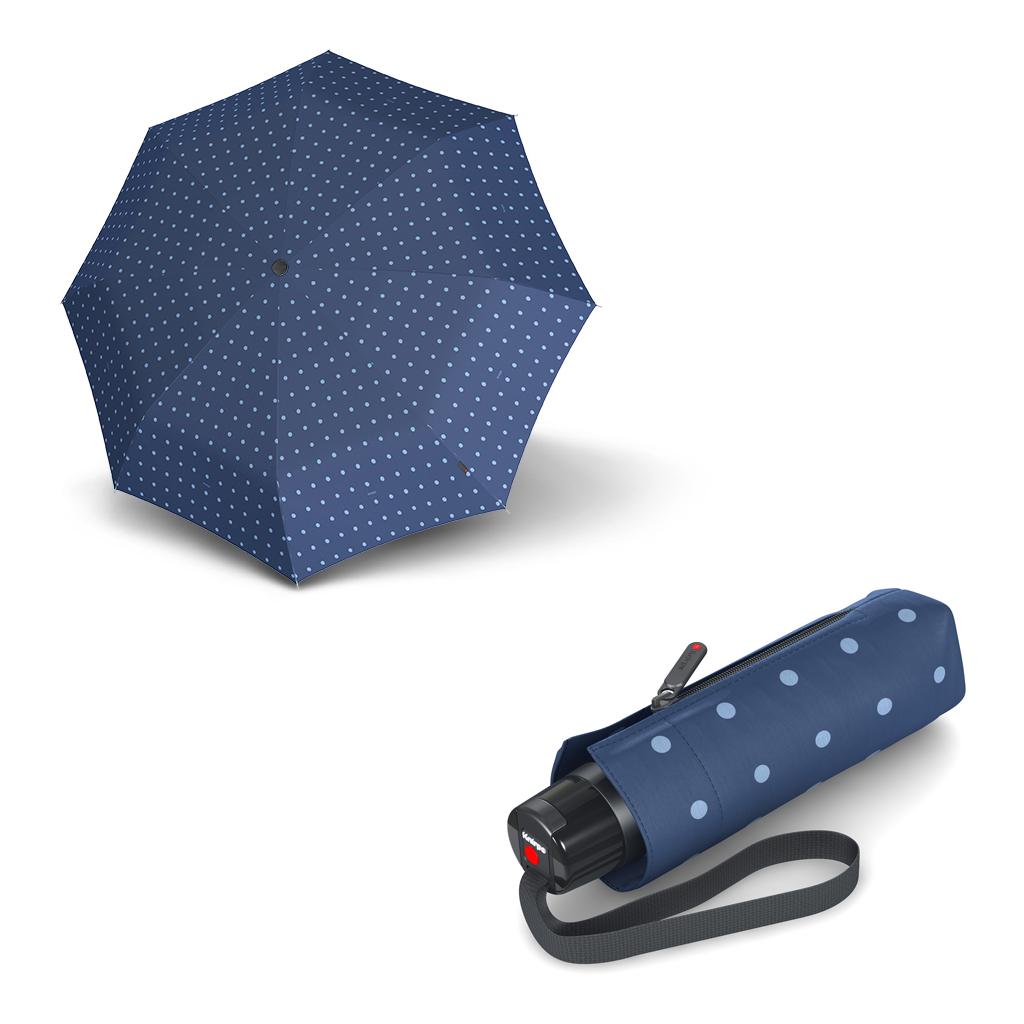 Knirps T.010 Small Manual Kelly Blue - dámský skládací mini deštník