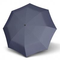 Doppler Magic Carbonsteel CHIC - dámský skládací plně automatický deštník modrá