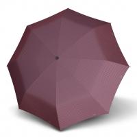 Doppler Magic Carbonsteel CHIC - dámský skládací plně automatický deštník vínová