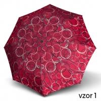 Doppler Magic Fiber GRAPHICS 22 - dámský skládací plně automatický deštník vzor 1