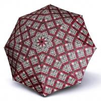 Doppler Magic Fiber KARRE - dámský skládací plně automatický deštník červená