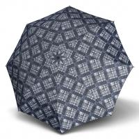 Doppler Magic Fiber KARRE - dámský skládací plně automatický deštník modrá