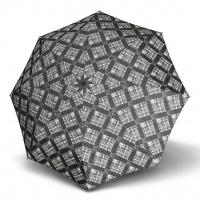 Doppler Magic Fiber KARRE - dámský skládací plně automatický deštník šedá