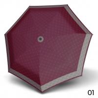 Doppler Mini XS Carbonsteel RETE - dámský skládací deštník vínová