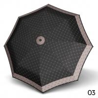 Doppler Mini XS Carbonsteel RETE - dámský skládací deštník černá