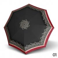 Doppler Magic Carbonsteel STELLA - dámský skládací plně automatický deštník černá