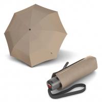 Knirps T.010 Small Manual taupe - dámský skládací mini deštník s UV ochranou