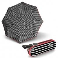 Knirps X1 Copenhagen Black - dámský skládací mini deštník