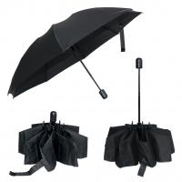 Doppler Magic Fiber CRAZY černý - dámský skládací plně automatický deštník