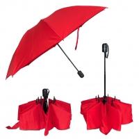 Doppler Magic Fiber CRAZY červený - dámský skládací plně automatický deštník
