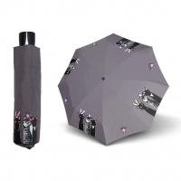 Doppler Mini Fiber ROYAL CATS - dámský skládací deštník