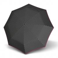 Doppler Magic Fiber LEONORA - dámský skládací plně automatický deštník černá