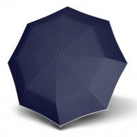 Doppler Magic Fiber LEONORA - dámský skládací plně automatický deštník modrá