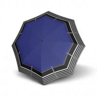 Doppler Mini Slim Carbonsteel LETIZIA - dámský plochý skládací deštník modrá