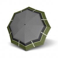 Doppler Mini Slim Carbonsteel LETIZIA - dámský plochý skládací deštník zelená