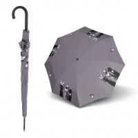 Doppler Long AC Fiber ROYAL CATS - dámský holový deštník s kočkami