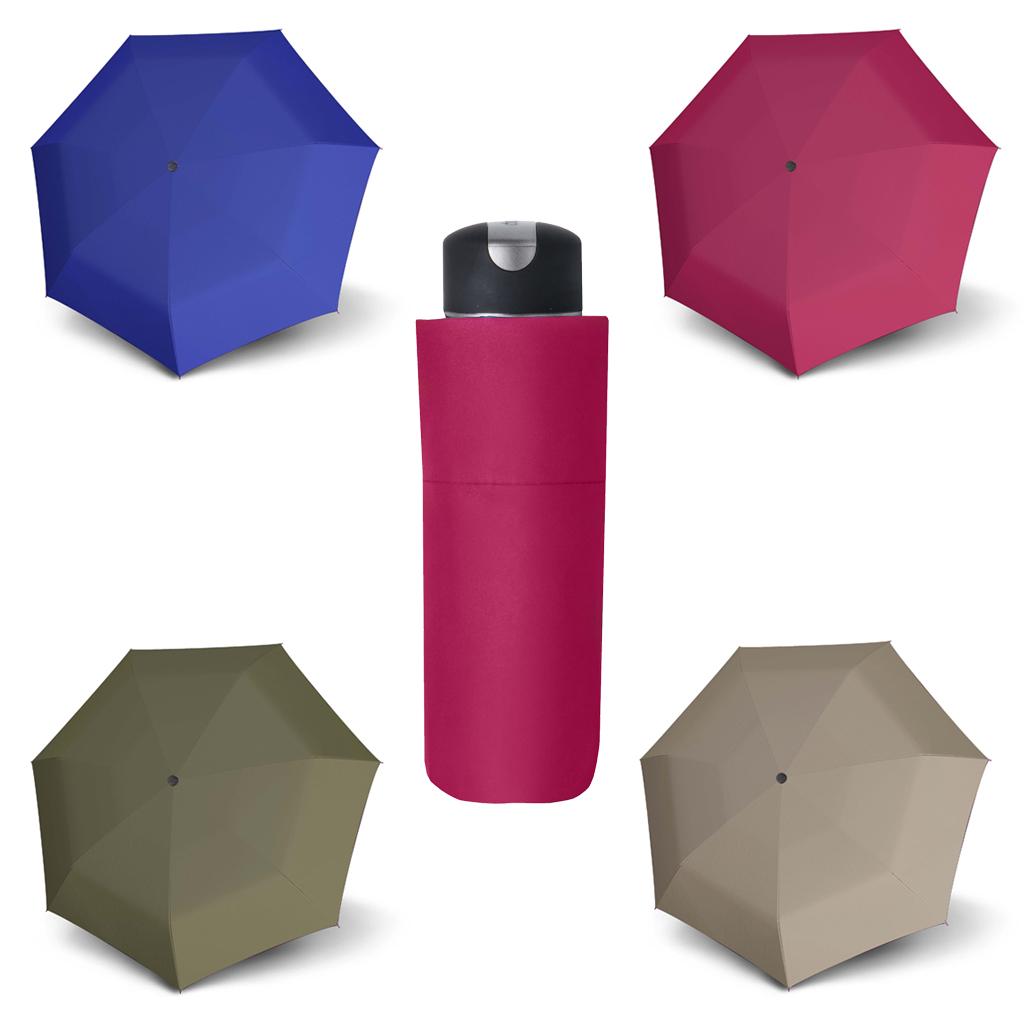 Doppler Mini XS Carbonsteel UNI 24 - dámský skládací deštník béžová