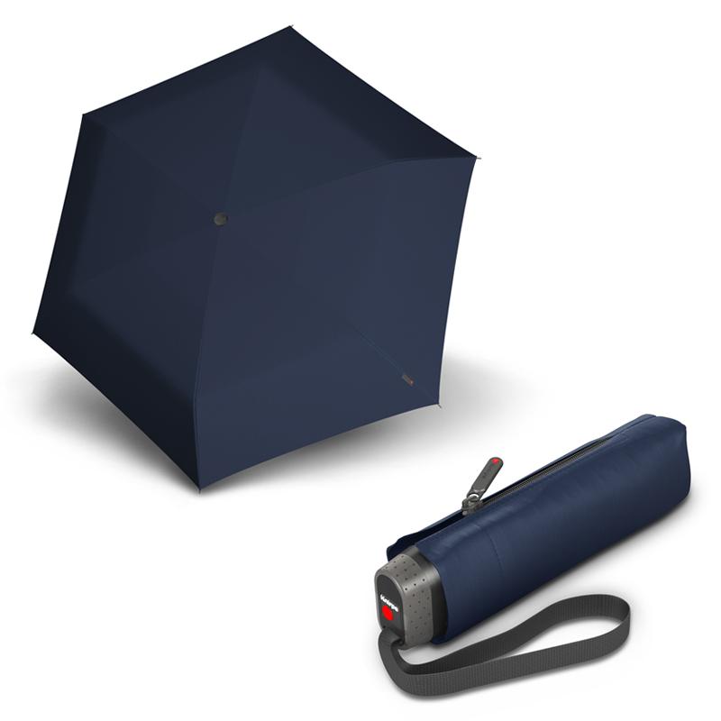 Knirps TS.010 Slim Small Navy - dámský/pánský skládací mini deštník