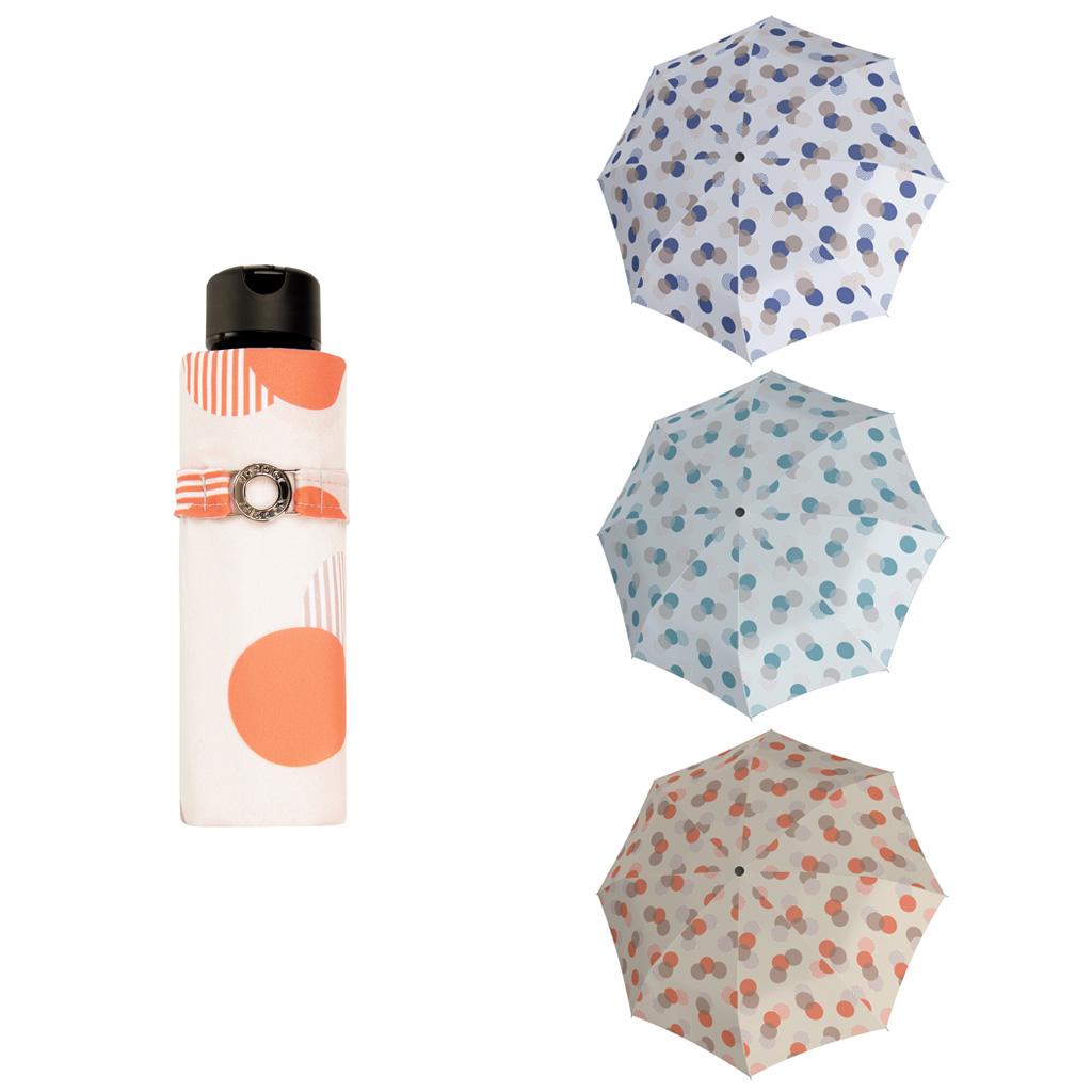 Doppler Mini XS Carbonsteel MOTION - dámský skládací deštník modrá