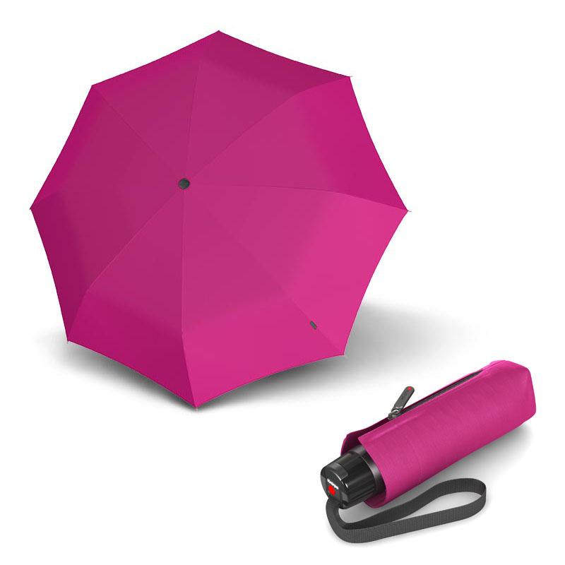 Knirps T.010 Small Manual Solids Violet - dámský skládací mini deštník s UV ochranou