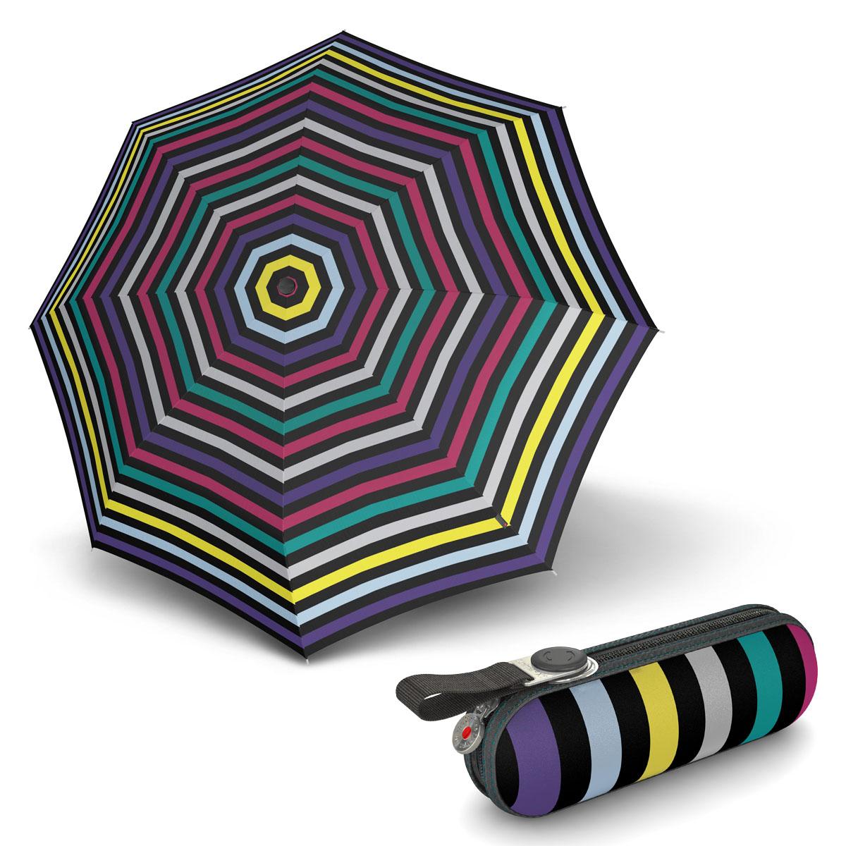 Knirps X1 Flora Multicolour - dámský skládací mini deštník