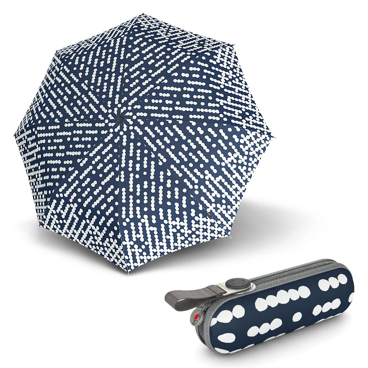 Knirps X1 Nuno Droplets - dámský skládací mini deštník