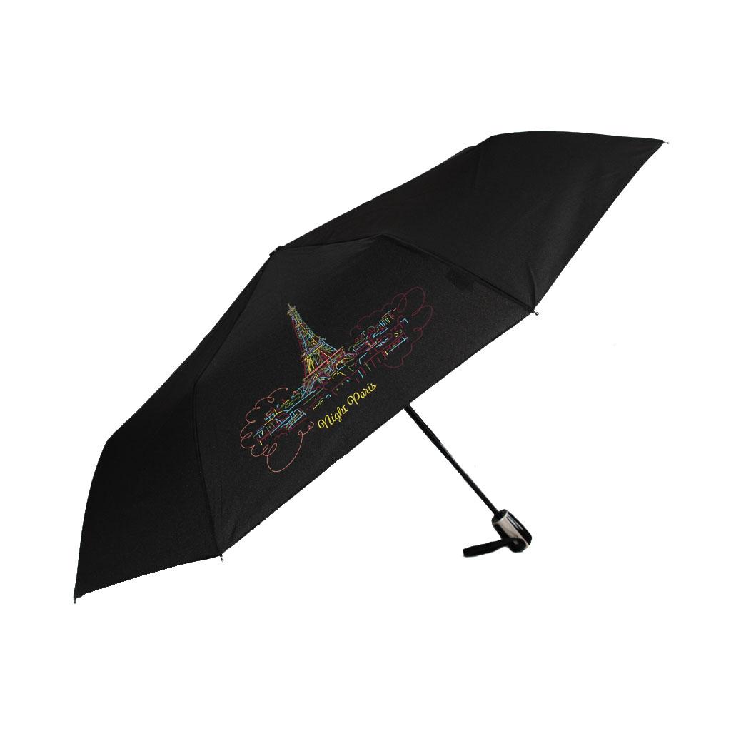 Doppler Magic Fiber NIGHT PARIS - dámský skládací plně-automatický deštník