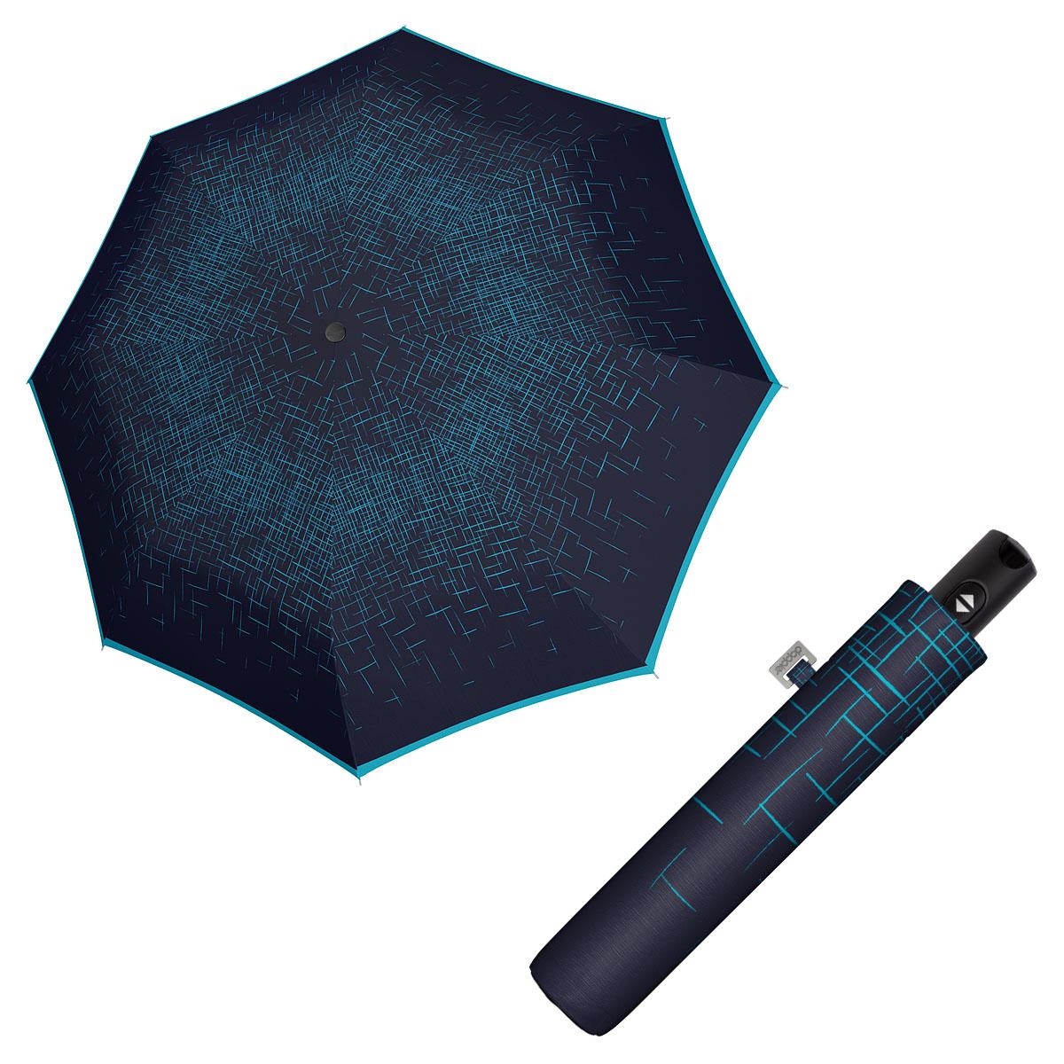 Doppler Magic Carbonsteel PASSION - dámský plně automatický deštník modrá