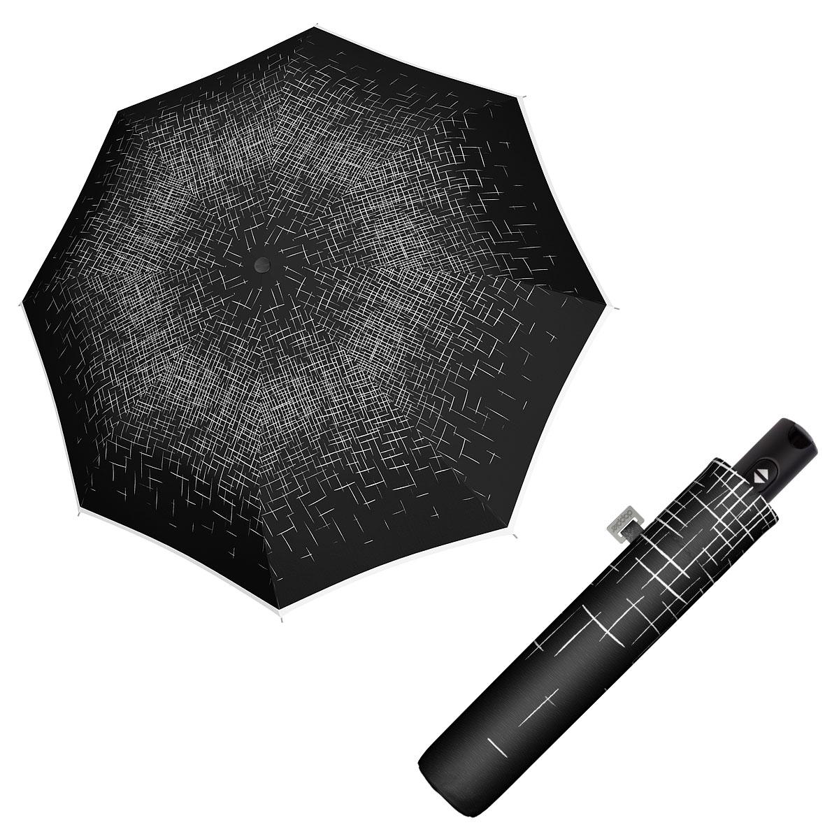 Doppler Magic Carbonsteel PASSION - dámský plně automatický deštník černá