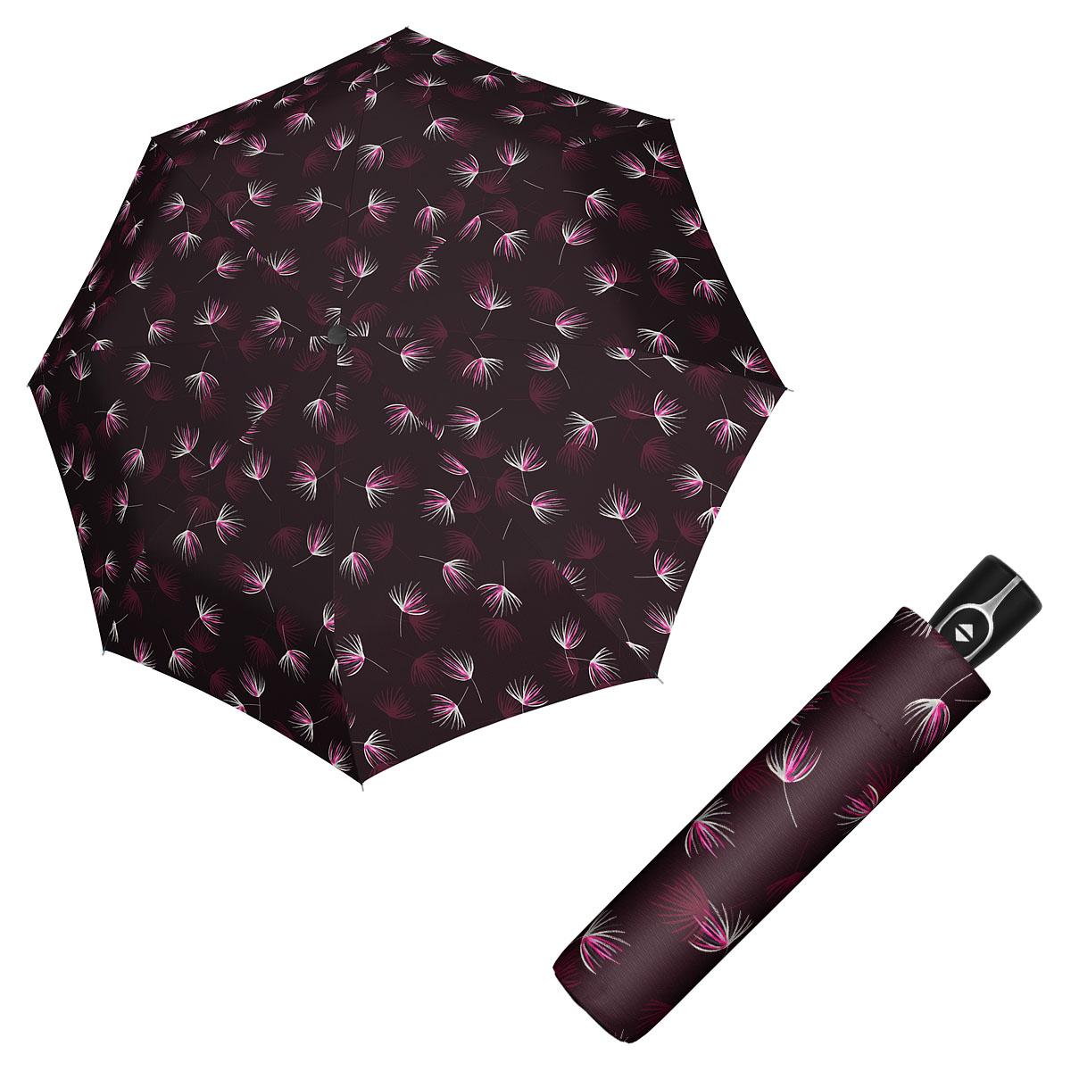 Doppler Magic Fiber DESIRE - dámský skládací plně-automatický deštník vínová