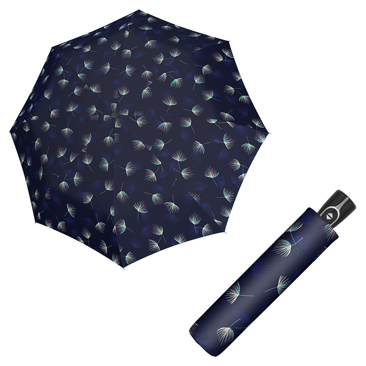 Doppler Magic Fiber DESIRE - dámský skládací plně-automatický deštník modrá