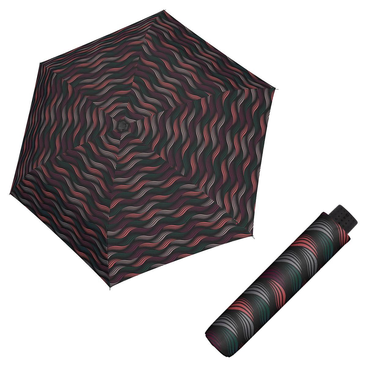 Doppler Havanna Fiber GRAVITY - dámský ultralehký mini deštník vínová