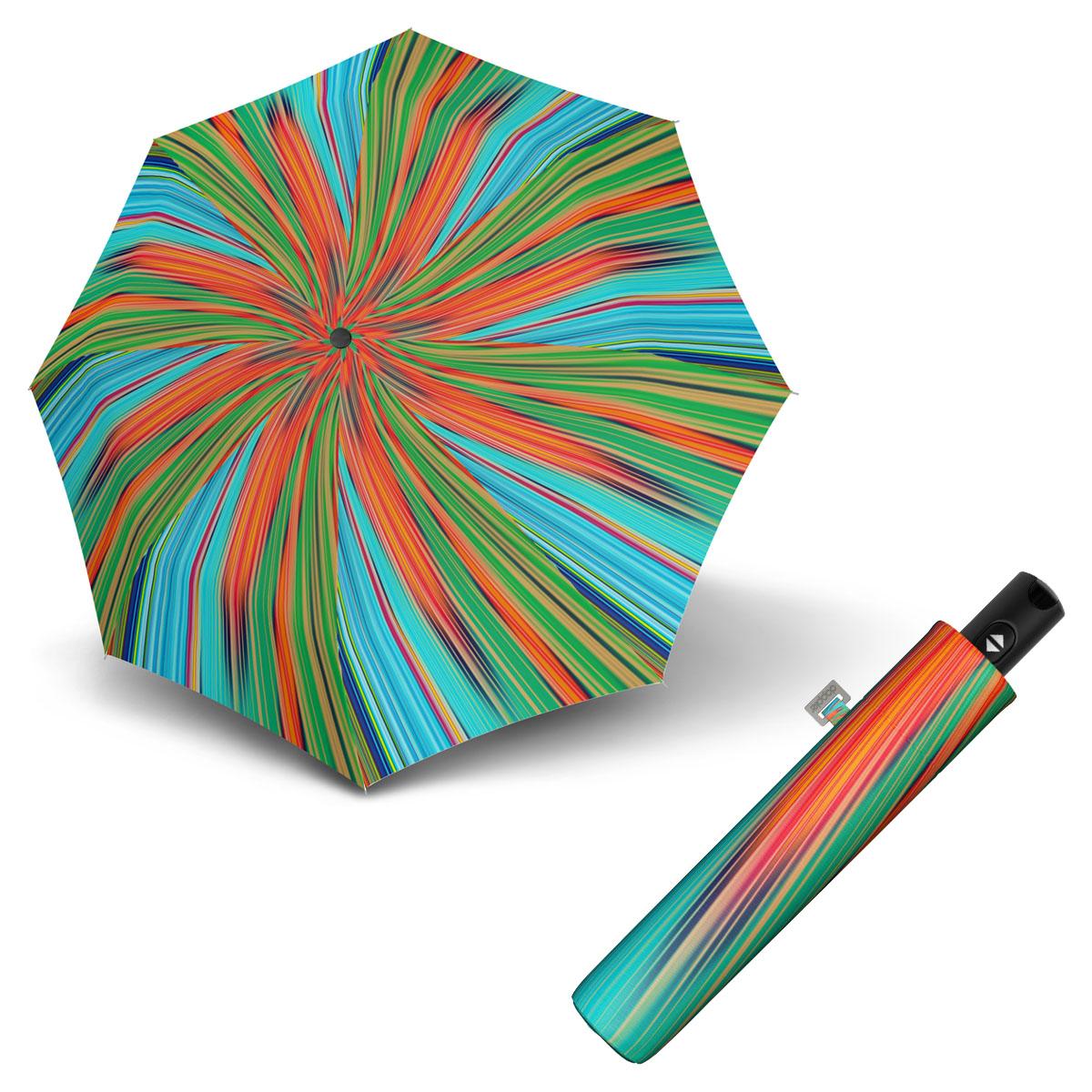 Doppler Magic Carbonsteel FANTASY - dámský plně automatický deštník oranžová
