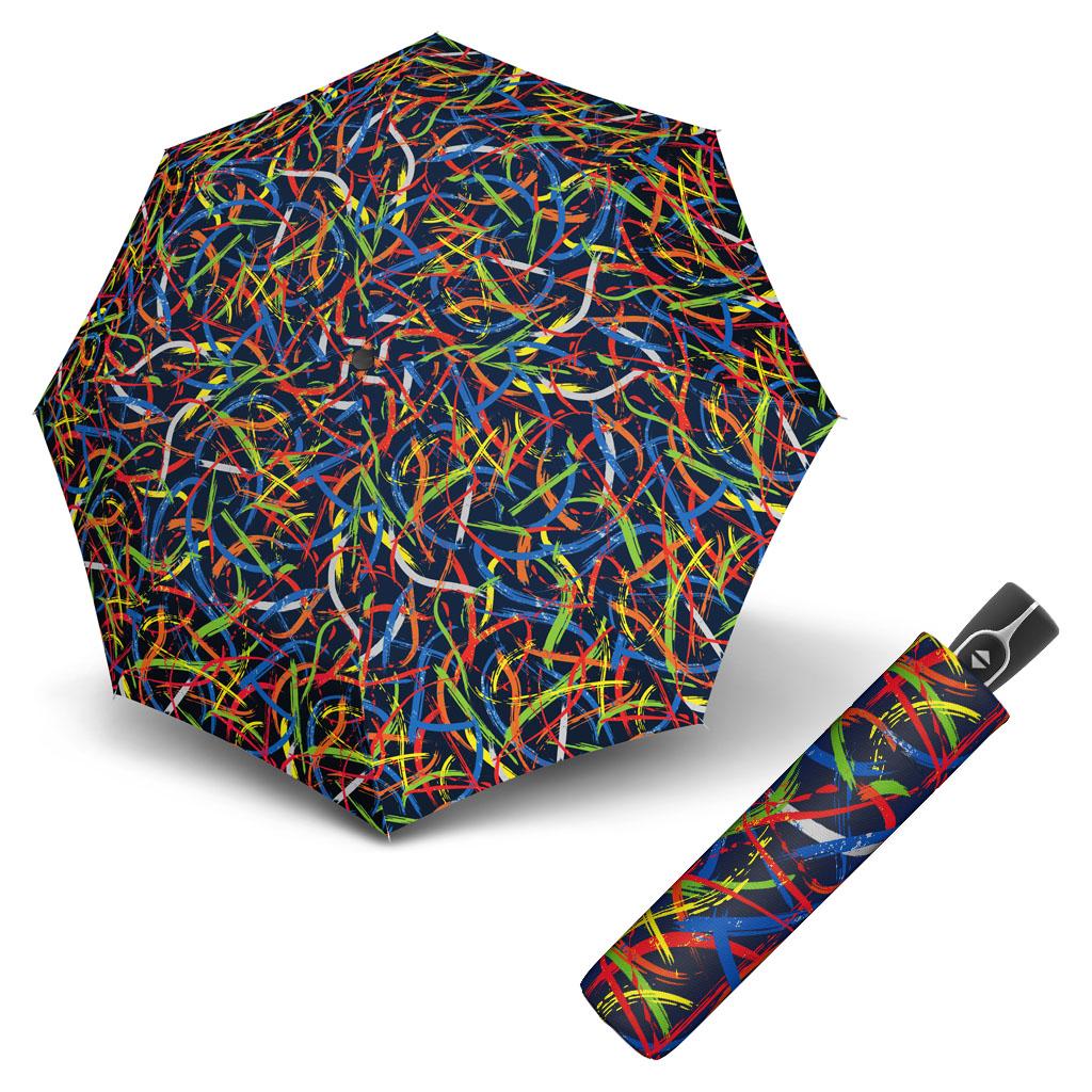 Doppler Magic Fiber EXPRESSION - dámský skládací plně-automatický deštník vzor 2