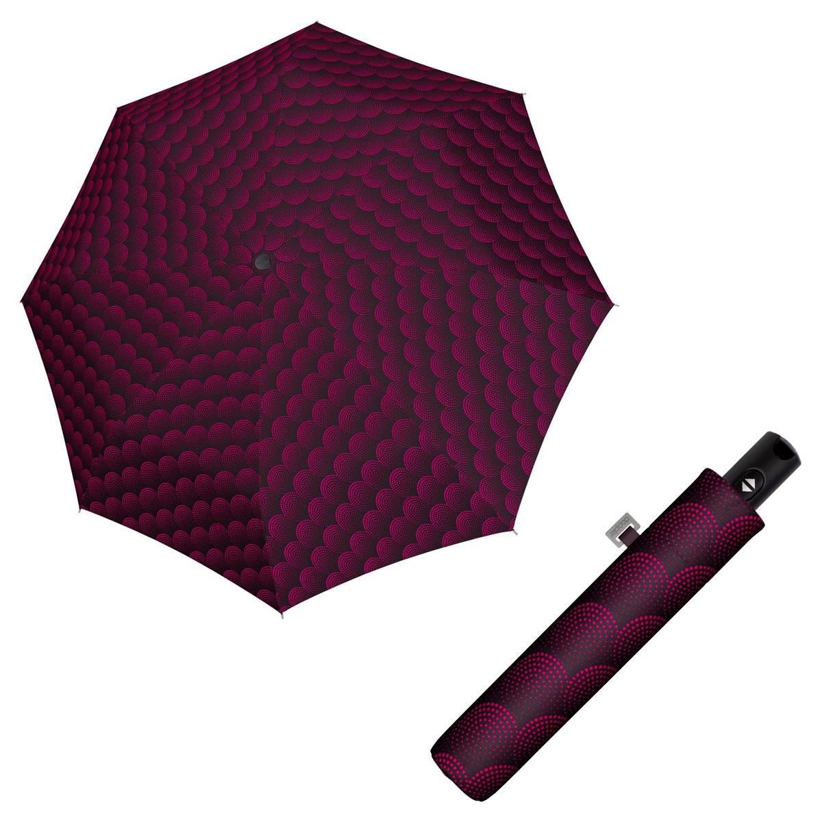 Doppler Magic Carbonsteel TWISTER - dámský plně automatický deštník vínová