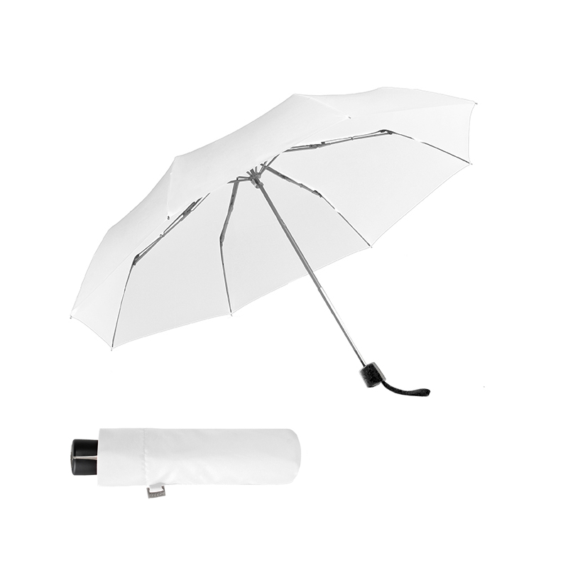 Doppler Alu Light Fiber bílý - dámský mechanický deštník